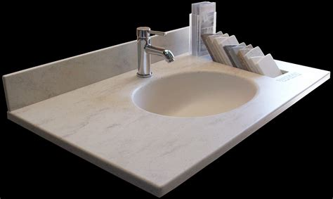 nantucket corian vanity tops display