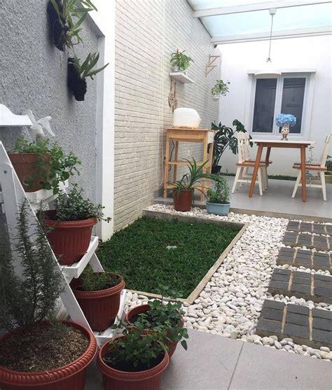 desain taman rumah modern minimalis images