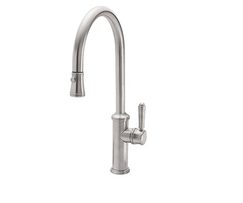 Lagunas Fancy Faucets Inc by California Faucets Davoli Pull Kitchen Faucet