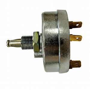 1400-0970 - John Deere Light Switch  12v  4 Positions -