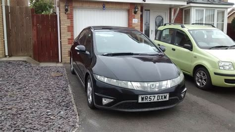 Modified Civic Mk8 by Honda Civic Cdti Mk8 Viii 40 60mpg 163 135 Ved Black