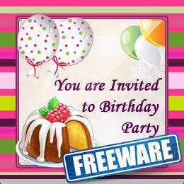 view  design  birthday invitation card
