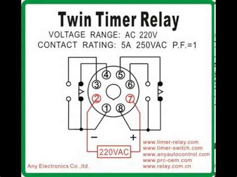 Twin Timer Relay Switch Youtube