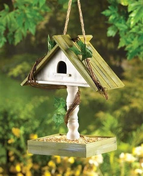 birdhouse with bird seed feeder tray birdhouses