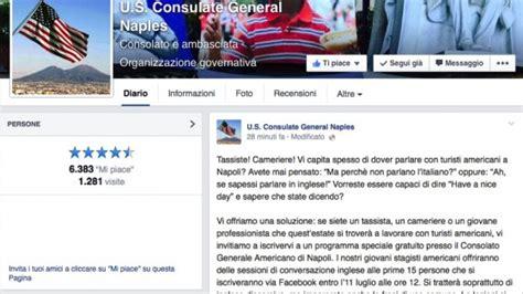Consolato Americano Bari by Scuola Di Inglese Al Consolato Americano Di Piazza Della