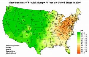 Acid Rain In The United States