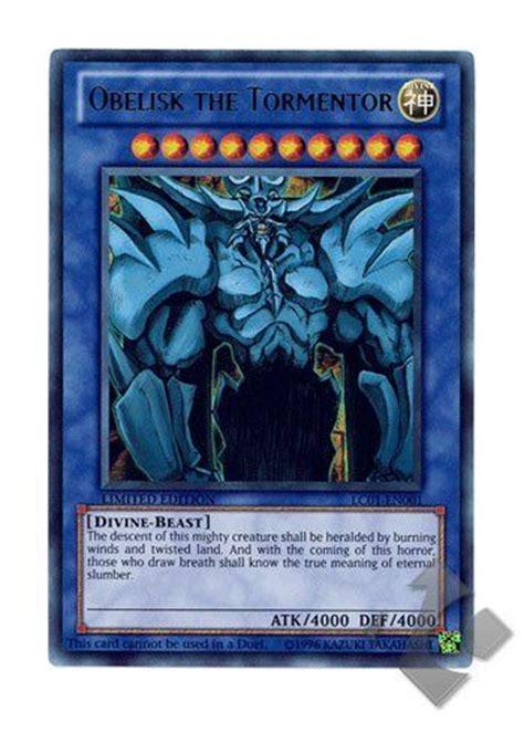 new hot yugioh cards lc01 en001 obelisk the