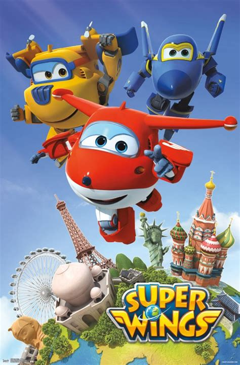 super wings action