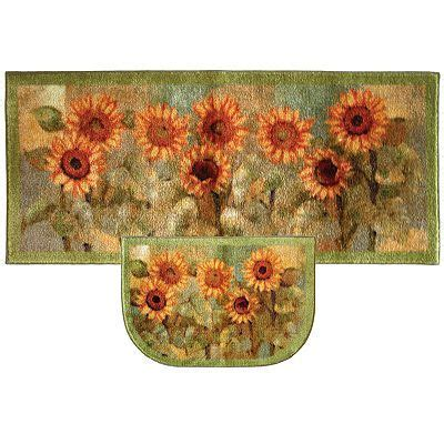 Kitchen Rugs Sunflowers by Mohawk 174 Home Sunflower Kitchen Rug Purchased For The