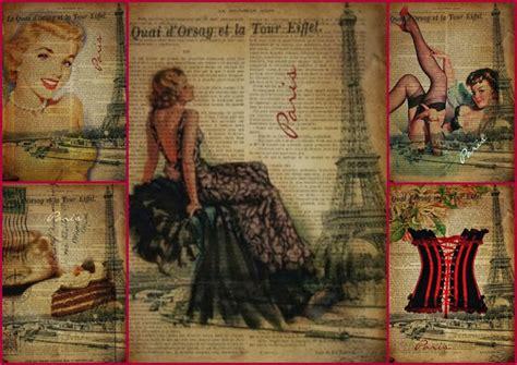 carteles vintage sobre periodicos  imprimir gratis