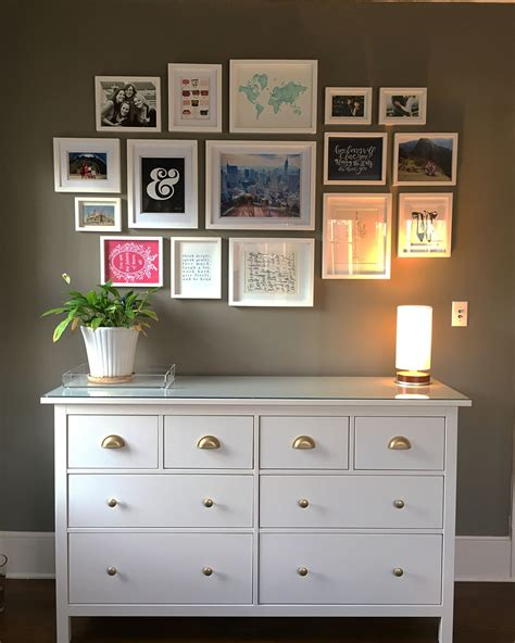 office ikea hemnes  drawer dresser hack  home