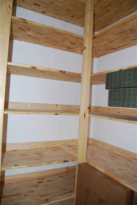 pantry  pine shelves traditional kitchen charlotte