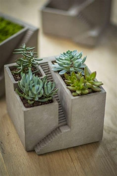 planter concrete 32 uniquely beautiful concrete planters