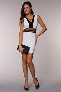 tenue noir et blanc pour femme With robe pour mariage cette combinaison alliance or blanc