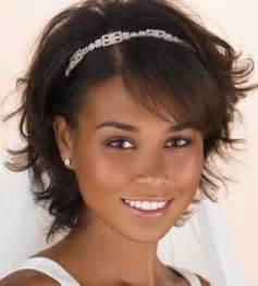 Wedding Hairstyles Black Women Short Hair