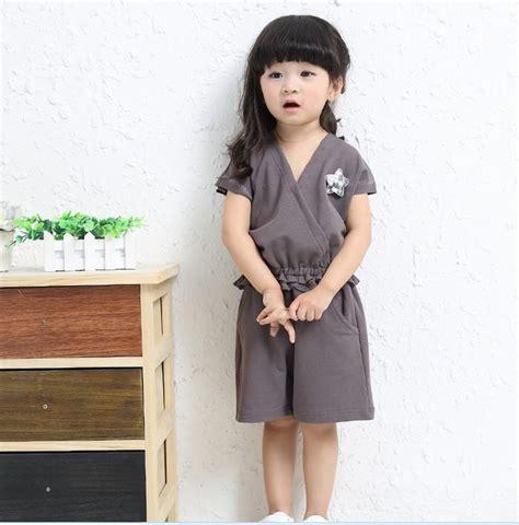 2018 2016 Summer Japanese Style Fashion Clothing Set Girls V Neck Lace Tops + Shorts Outfits ...