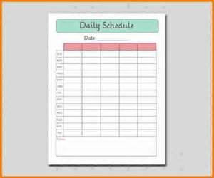 Expense Report Template Excel 3 Printable Daily Schedule Expense Report