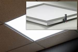 New flat panel downlights from glt offers efficient