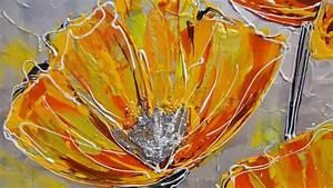 Papaveri moderni arancioni Vendita Quadri Online Quadri moderni Quadri astratti Quadri