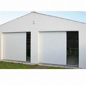 porte de garage laterale a enroulement sur mesure voletshop With porte garage à enroulement