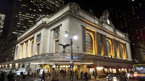 grand central terminal turns   rededication ceremony