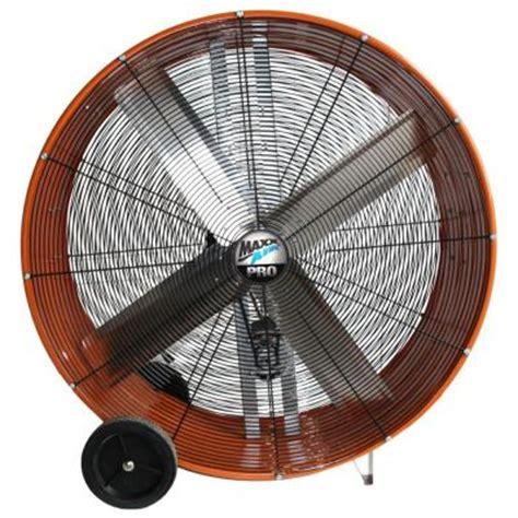home depot barrel fan drum fans maxxair 42 in heavy duty industrial 2 speed