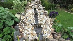 Wasserfall Im Garten Selber Bauen : wasserfall im garten mit 20 w solar teichpumpe youtube ~ Eleganceandgraceweddings.com Haus und Dekorationen