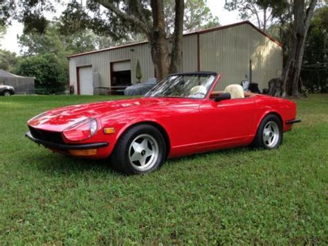 Datsun 240z Turbo by Buy Used 1971 Datsun 240z Turbo Charged Convertible In