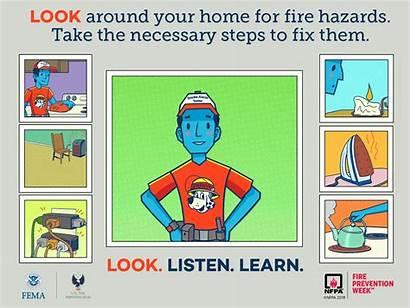 Fire Prevention Week Learn Listen Department Haven