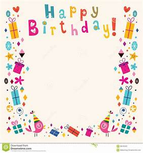 Happy Birthday Frame Clipart (38+)