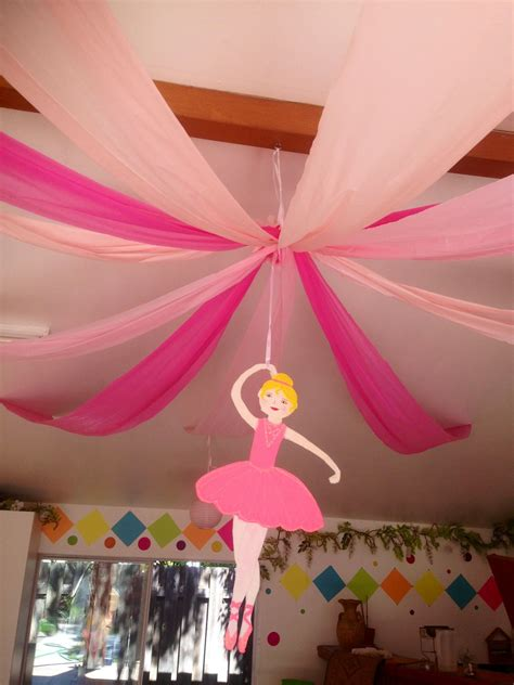 Ceiling Decorations For Ballerina Party  My Parties All