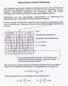 Amplitude Berechnen : beitragsreihe von werner messen mit dem oszilloskop ~ Themetempest.com Abrechnung