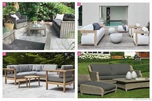 salon de jardin design idees salon de jardin confortable With salon de jardin confortable et zen