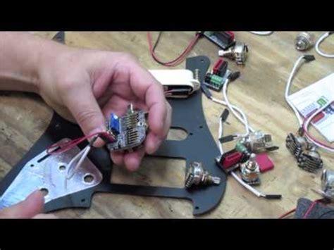 Emg Pickup Wiring Conversion Kit Youtube