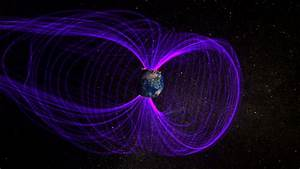 The weakening of Earth's magnetic field must change its ...