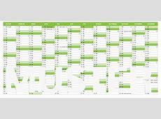 Numbers Vorlage Kalender 2019 Ganzjahr Numbersvorlagende