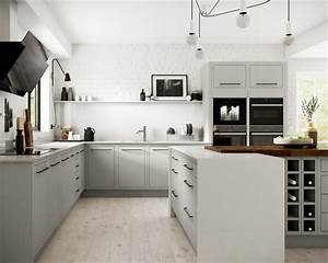 Radley, Dove, Grey, -, Contemporary, -, Kitchen, -, Other