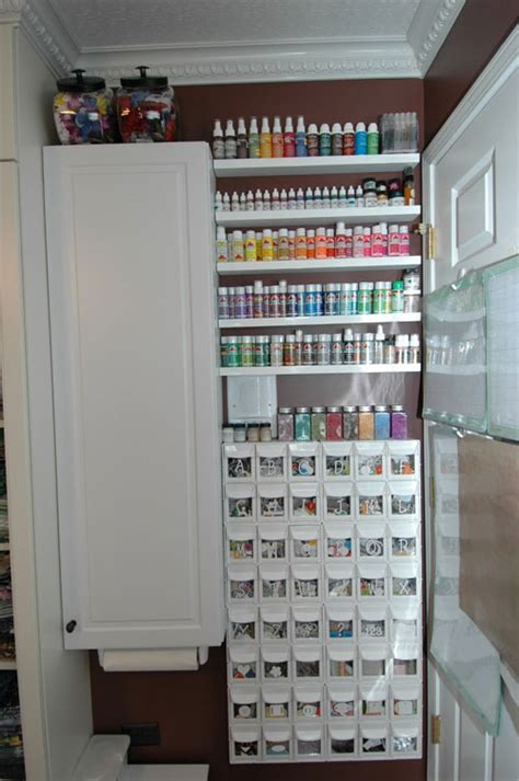 Picture Of The Best Crafts Room Organization