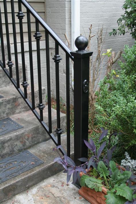wrought iron handrail iron railings birmingham al allen iron works 1193