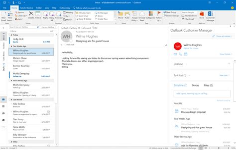 Office 365 Outlook Version Support by Get Started With Outlook Customer Manager Office Support