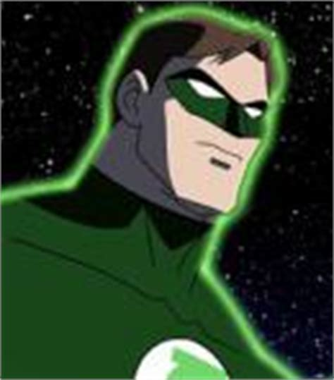 voice of green lantern hal justice