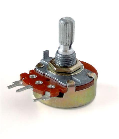variabel resistor 50k ohm potencjometr wolna encyklopedia