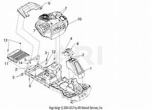 Mtd Cr30 Tractor  13a726jd897   2017  Parts Diagram For Fender