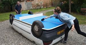 Voiture Hs Que Faire : transforme ta voiture en table de ping pong ping pong ~ Gottalentnigeria.com Avis de Voitures