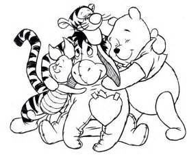 winnie the pooh coloring page collections