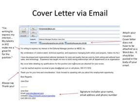 cover letter for resume through email email to go with cover letter and cv writefiction581 web fc2