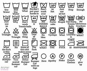 Waschhinweise Symbole Bedeutung : laundry symbols as explained by men ~ Pilothousefishingboats.com Haus und Dekorationen