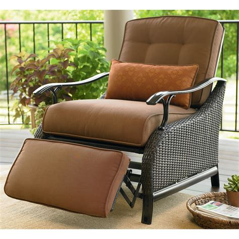 comfortable patio furniture comfortable reclining patio chair the home redesign