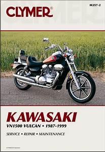 Kawasaki Vulcan 1500 88  Vn1500 Repair Manual 1987