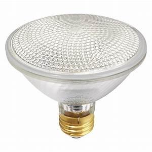 W reflector halogen par flood light bulb v rona